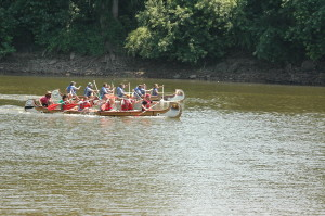 Canoe Races on the Wabash River