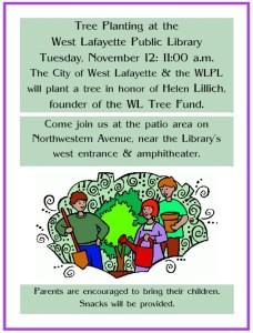 Tree Planting at WLPL 2013