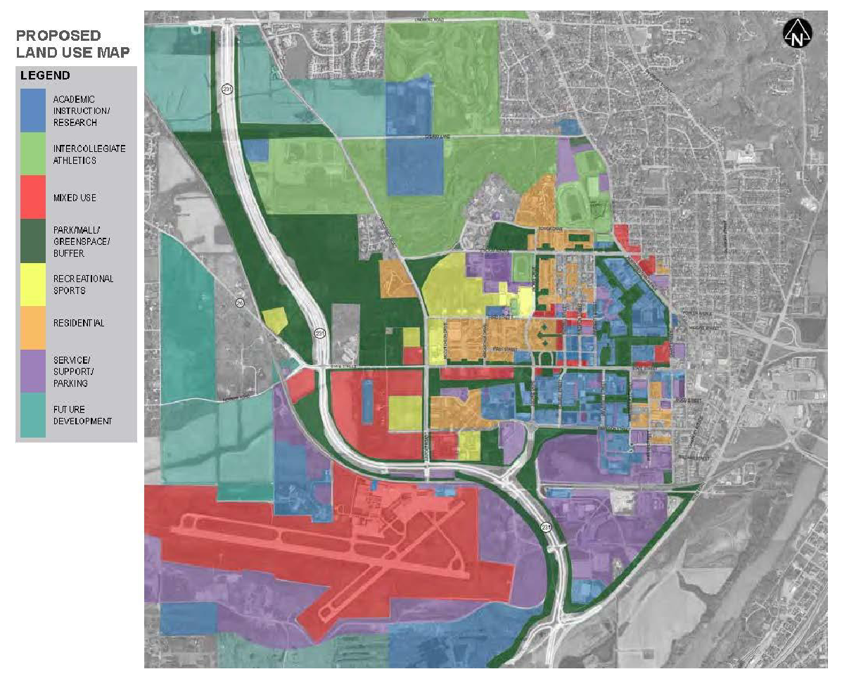 Updated Purdue Campus Master Plan
