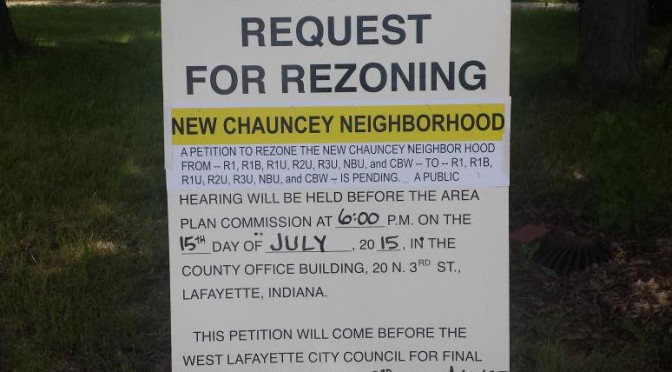 New Chauncey Rezone off to the APC and City Council