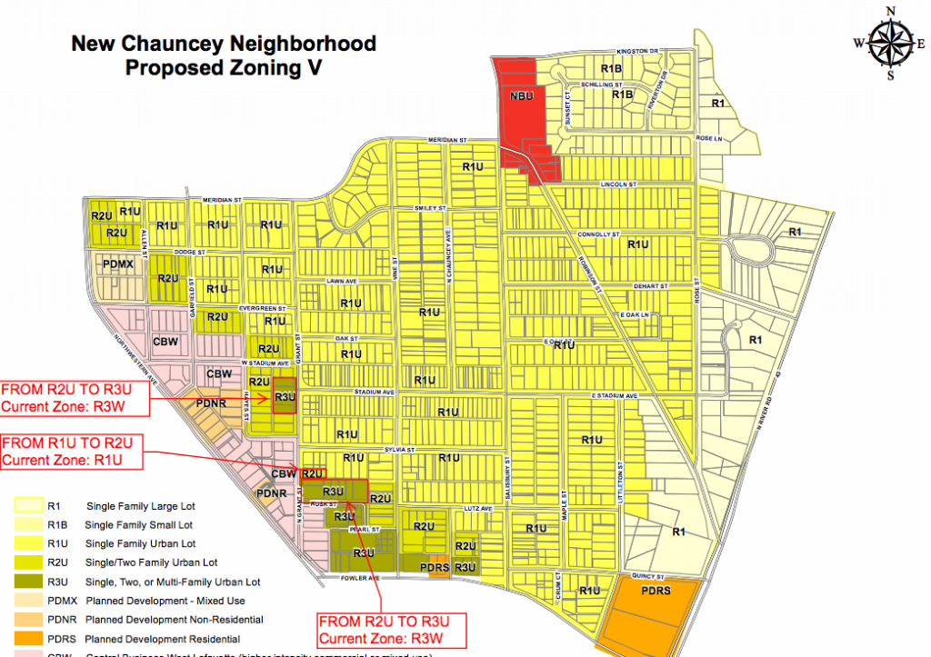 New Chauncey Rezone Exhibit V