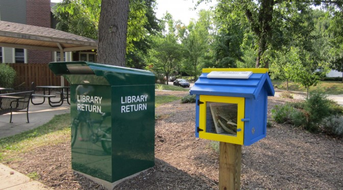 WLPL Book Drop & Little Free Library Now At Lincoln Park