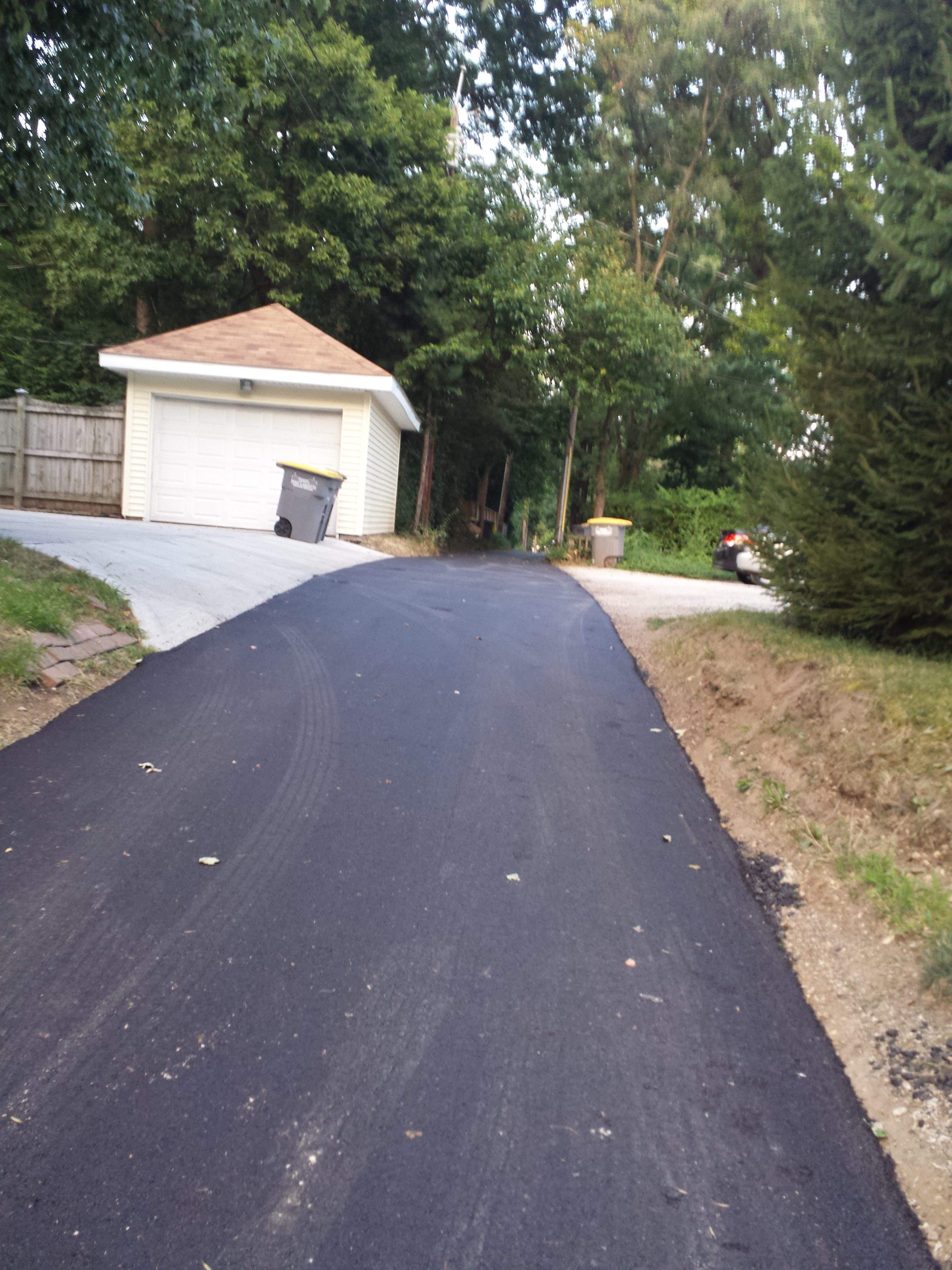 Dehart and East Oak Alley Repave