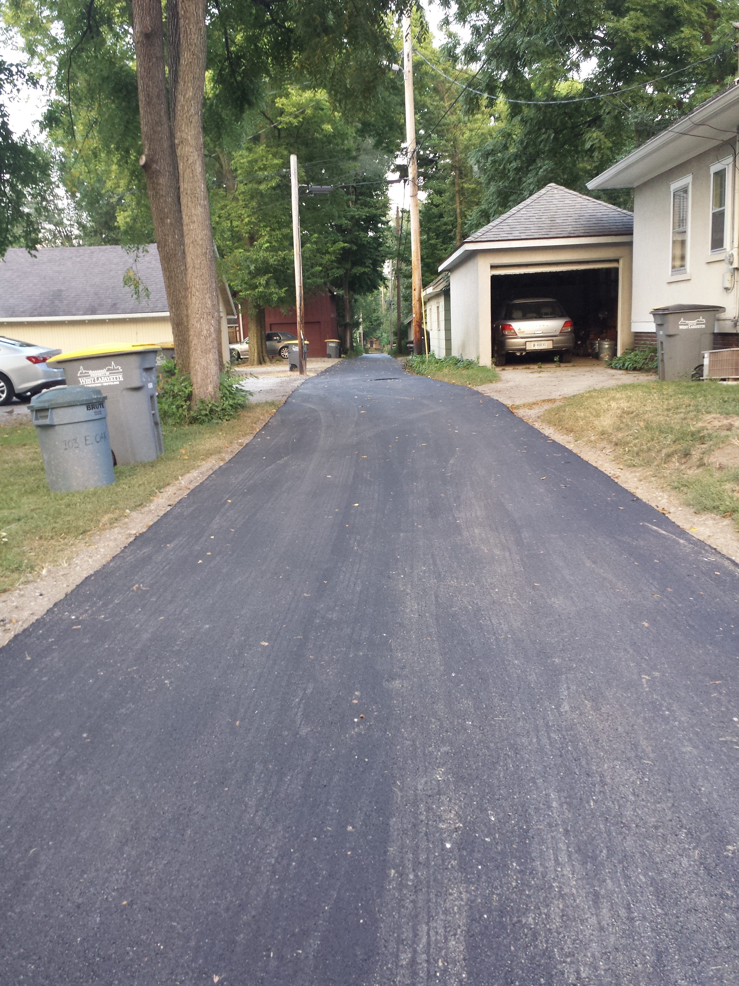 East Oak and Stadium Alley Repave