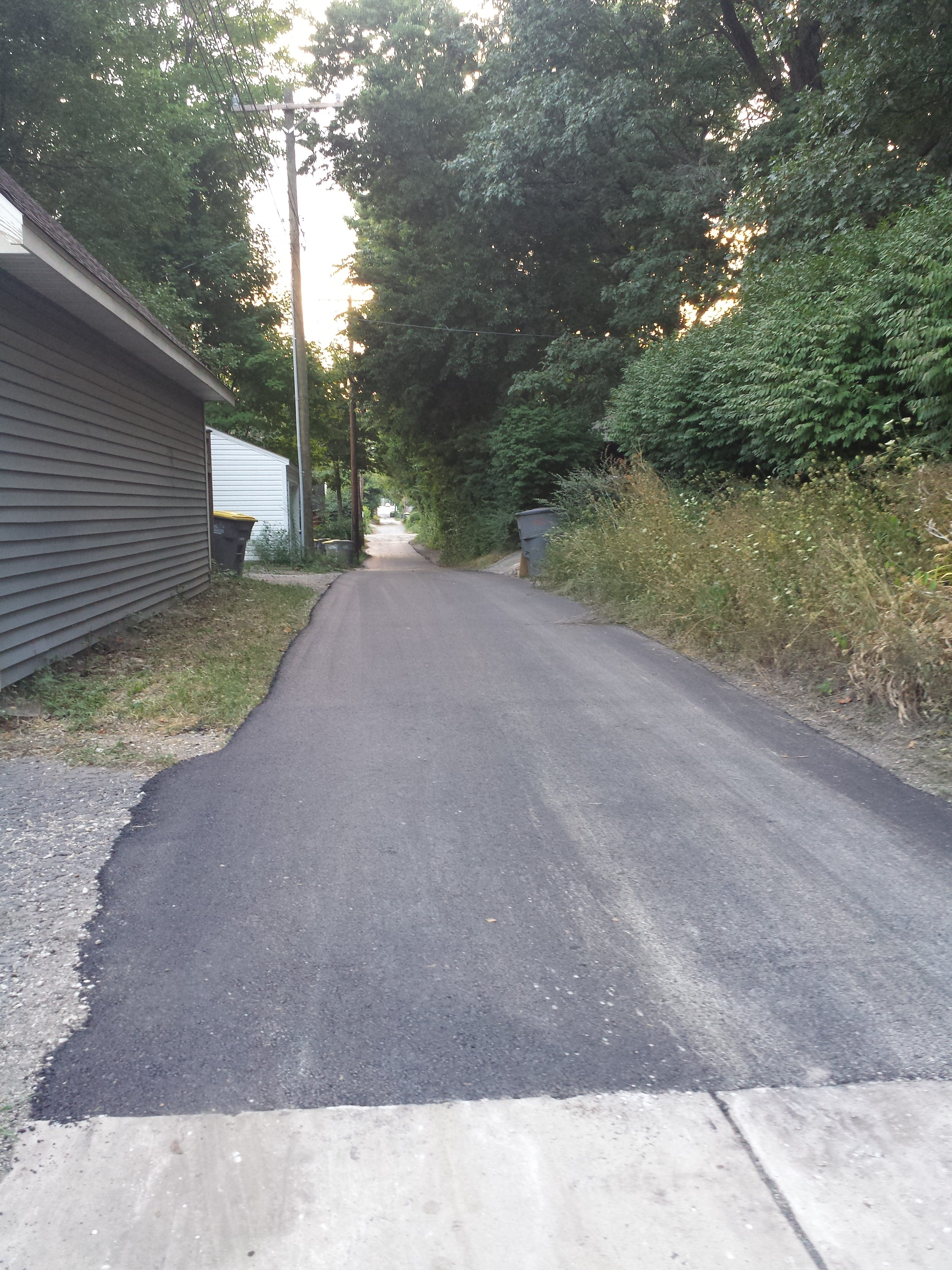 North Chauncey and Vine Alley Repave